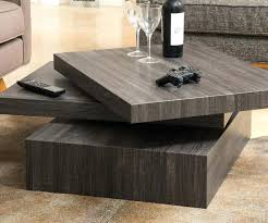 rotating coffee table black gloss rotating coffee table