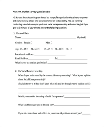 Survey Forms In Word Gorgeous Email Questionnaire Template Email Survey Template 48 Word Market