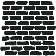 brick wall stencil work template brick wall brick wall stencil brick wall stencil