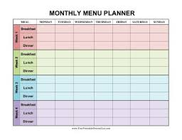 monthly meal planner template month meal planner template tire driveeasy co