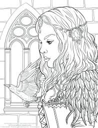 Coloring Pages Free Detailed Coloring Pages Hard Odd Printable For