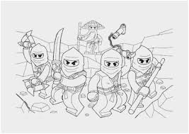 Ninjago Coloring Pages Pdf Wonderfully Kleurplaat Lego City Lego