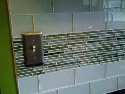 installing glass tile backsplash in kitchen tile edge kitchen tutorial install