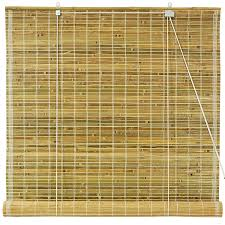 bamboo window blinds. Amazon.com: Oriental Furniture Burnt Bamboo Roll Up Blinds - Natural (72 In. X 72 In.): Home \u0026 Kitchen Window