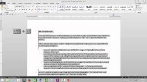 How To Email A Resume How To Email A Resume