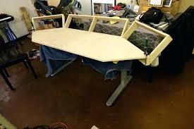 build your own sit stand desk converter in designs diy diy sit stand desk u36