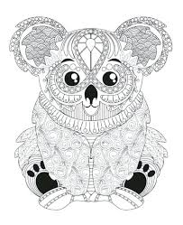 koala coloring page pages ballet