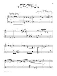 legend of zelda piano sheet music the legend of zelda symphony of the goddesses j w pepper