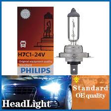 H7c1 12972c1 Philip 1pc Headlight Light Bulbs Low Beam For