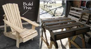 adirondack chairs from pallets. Contemporary From How Would You Like To Build An Adirondack Chair Entirely From Pallets This  Isnu0027t A Typical Pallet Project That Essentially Looks Some Screwed Together  In Chairs From Pallets