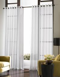 ... Living Room, Contemporary White Curtain Ideas For Large Windows Modern Living  Room Is On Stunning ...
