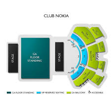 The Novo Seating Chart Row Cc Jaden Smith And Willow Smith Los Angeles Tickets 12 19
