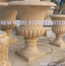 Decorative Large Urns simple design garden planting urn decorative flower pot outdoor 28