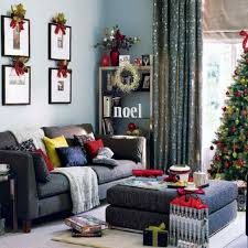 Living Room Decoration Themes Interior Fabulous Ideas In Decorating Christmas Tree With White