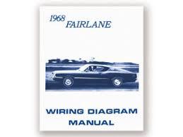 new 1968 fairlane wiring diagram manual 500 torino gt squire image is loading new 1968 fairlane wiring diagram manual 500 torino