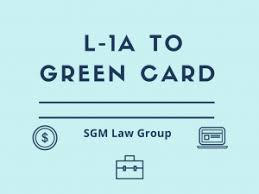 L 1a To Eb1 Green Card Eb1c Requirement For L1 Holders