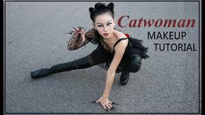 catwoman makeup tutorial 萬聖節化妝 sherry w you