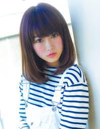 ミディアムボブ小顔ヘアyr 259 ヘアカタログ髪型ヘアスタイル