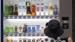 Woman Vending Machine Custom Nappies And Super 'icecold' Drinks Japan's Vending Machine