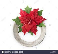 Der Weihnachtsstern Handgefertigte Blume Stoff Schaumstoff