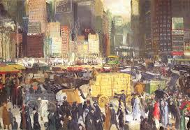 new york george wesley bellows oil painting