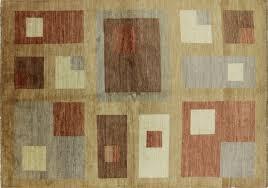 modern rug texture. Hand Knotted 5\u0027x8\u0027 Modern Bronze/Earth Tone Gabbeh Lori Buft Wool Area Rug H6307 Texture S