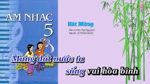Bài 6 | Hát Mừng - Âm Nhạc Lớp 5 || Tập Hát Theo Lời | CD Bộ Giáo Dục -  YouTube