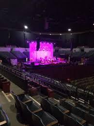 Pechanga Casino Concert Seating Chart Pechanga Arena Section L24 Row 6 Seat 8 Home Of San
