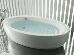 freestanding bathtub oval acrylic hydromassage bravo top 6 freestanding bath for total relaxation fooz world
