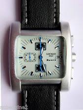 locman watch locman sport quadrato men s chrono silver white blue watch 428 new in box