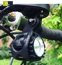 Action Camera Adaptor And Bike Handlebar Flashlight Holder Mount