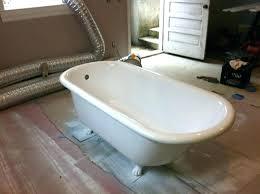 home depot cast iron tub bathtub refinishing before after bay state cast iron tub cast iron