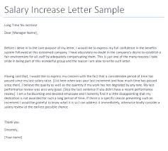 raise salary letter salary increment letter samples delli beriberi co format for in