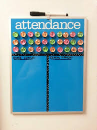 Attendance Chart Would Change Numbers To Names Classroom
