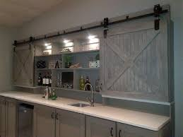 interior barn door mirror