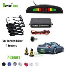 sound system kit. car led parking sensor kit parktronic 4 sensors for cars reversing assistance system buzzing sound