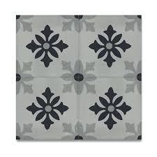 in handmade tiles pack grey moroccan