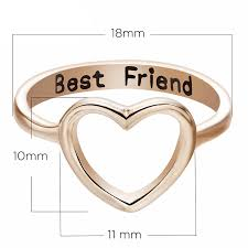 <b>Dropshipping</b> Gold/Silver Color Heart Shaped Rings For Women's ...