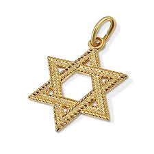 24k gold over sterling silver star of david pendant zoom image