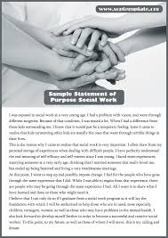 Sample Statement Of Work Template Avail Our Quality Sample Statement Of Purpose Social Work Sop