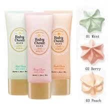 3 pcs lot new arrival etudehouse moist and silky puffs base primer cream make up