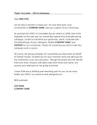 Sample Appreciation Letter Employee For Hard Work Bonus 21