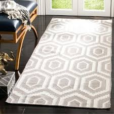 safavieh runner rugs reversible grey ivory wool rug a e natural fiber picturesque