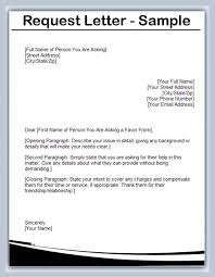 How To Write A Requirement Letter Writing A Information Letter