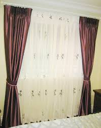 Purple Curtains For Bedroom Fabric Curtains Album