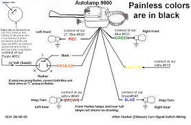 universal turn signal switch wiring diagram within with motorcycle turn signal wiring diagram at Universal Turn Signal Wiring Diagram
