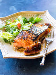 Grilled Asian Salmon Dinner Recipe ...