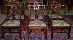 chippendale dining room furniture beautiful dining room chairs on inside set 4 chippendale dining room