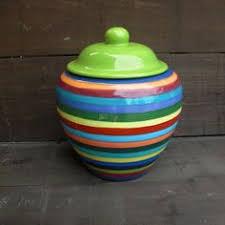 Colorful Cookie Jars