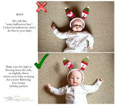 baby photo tip light the baby from the side or top